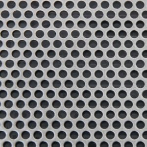 Perforated anodes and perforated cathodes