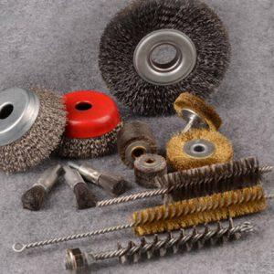 Wire, Nylon, Ceramic & AO ( Aluminum Oxide) brushes